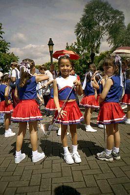 Carnaval de los niños en Costa Rica