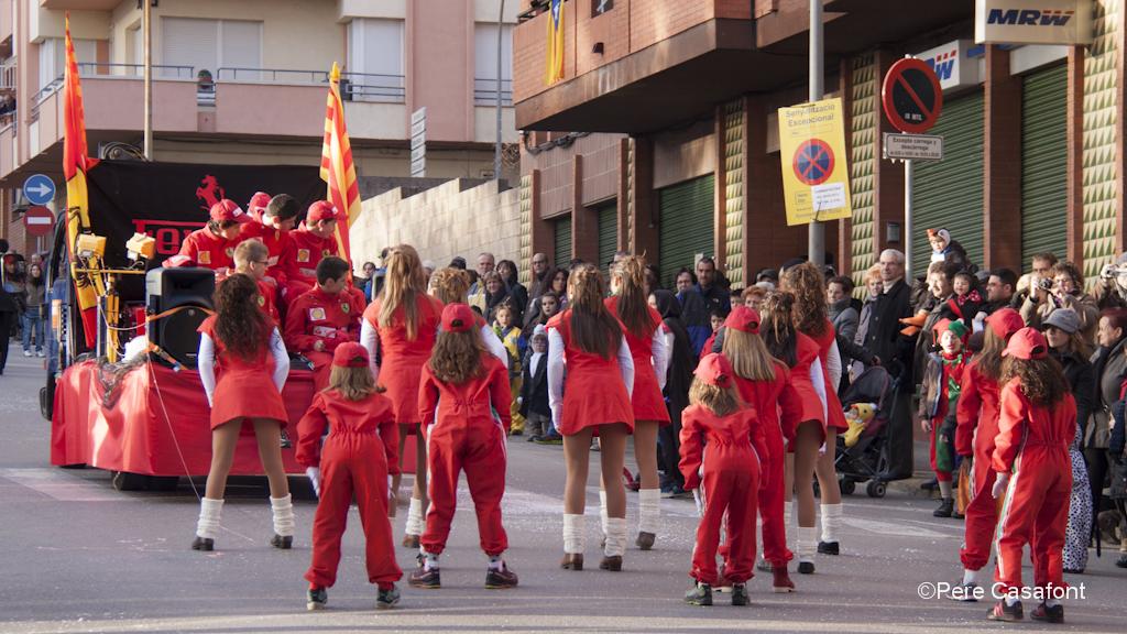 Carnaval. Ferrari