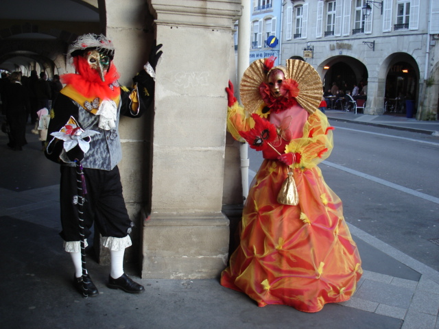 carnaval venitien de Remiremont (Vosges)