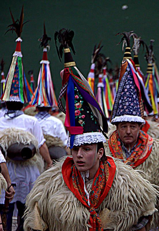 Carnavales de Ituren y Zubieta. Navarra.