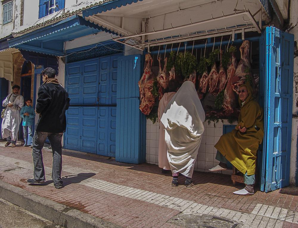 Carne fresca (Essaouira Marruecos)