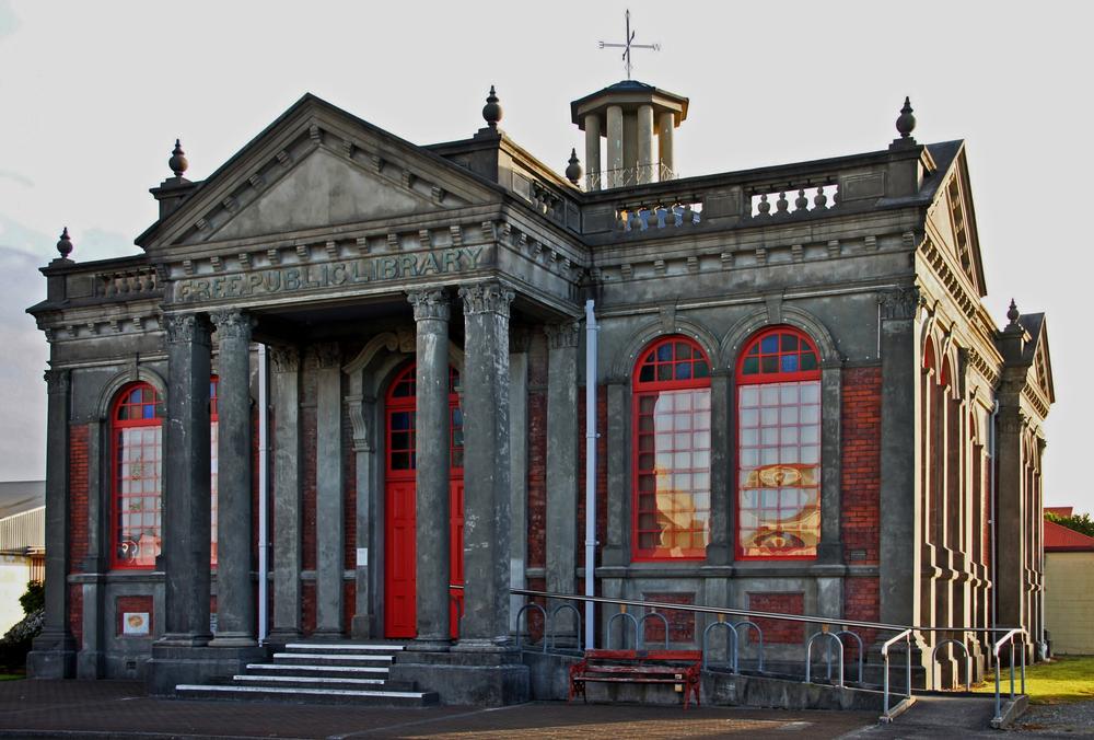 ..Carnegie Gebäude ..
