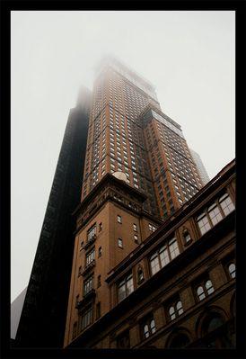 Carnegie Hall im Nebel