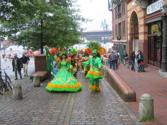 Carneval at Hamburg Fischmarkt