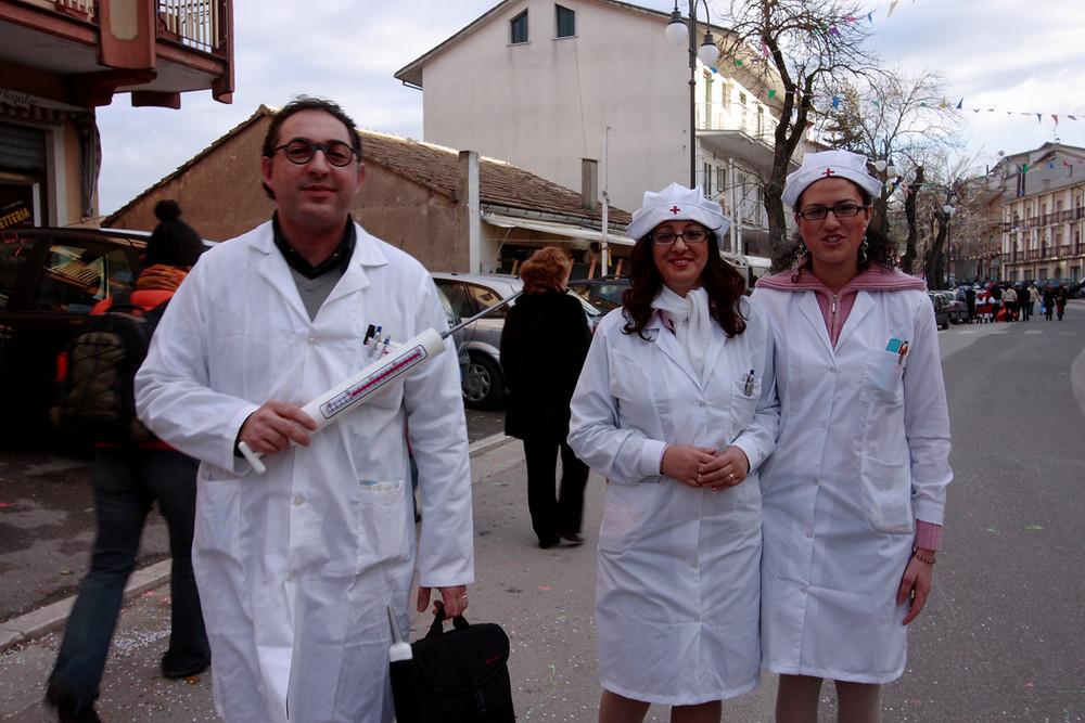 Carnevale a Montemarano a ritmo di tarantella e vino.