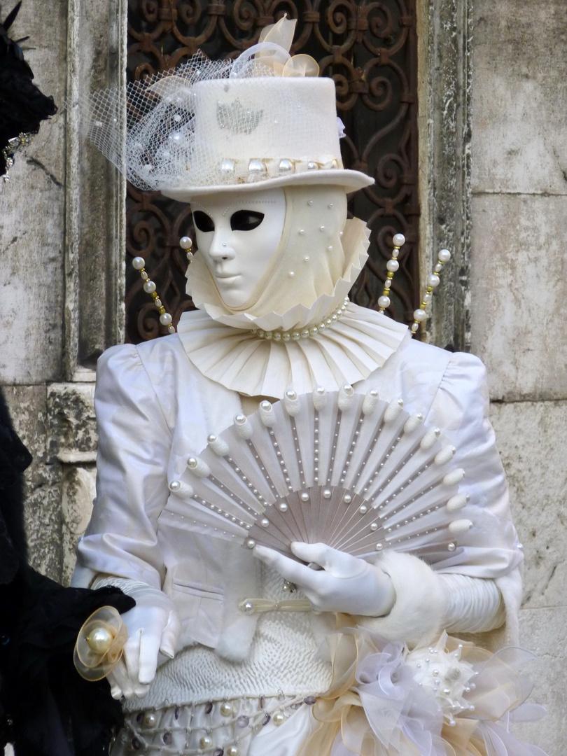 Carnevale di Venezia 2011 Maschera Bianca
