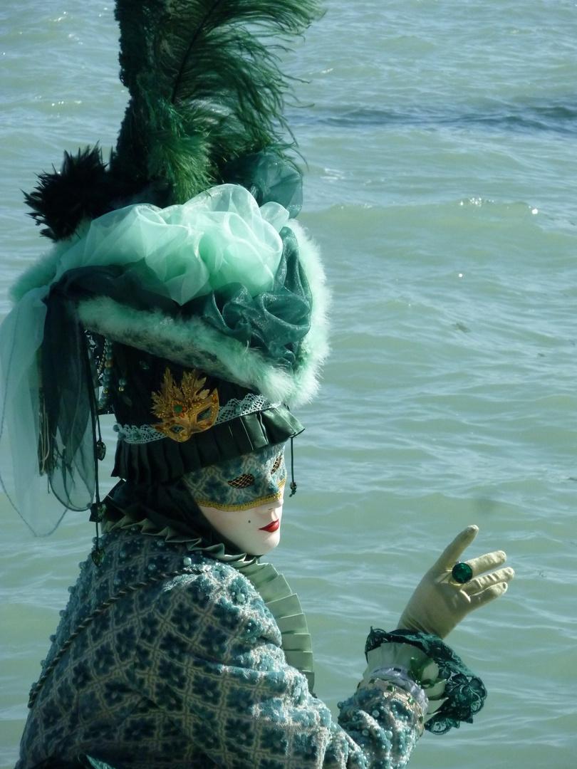 Carnevale di Venezia 2011 Maschera verde