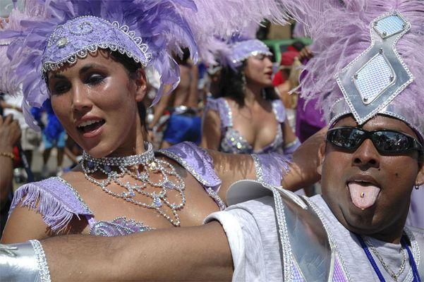 Carnival in Trinidad W.I.