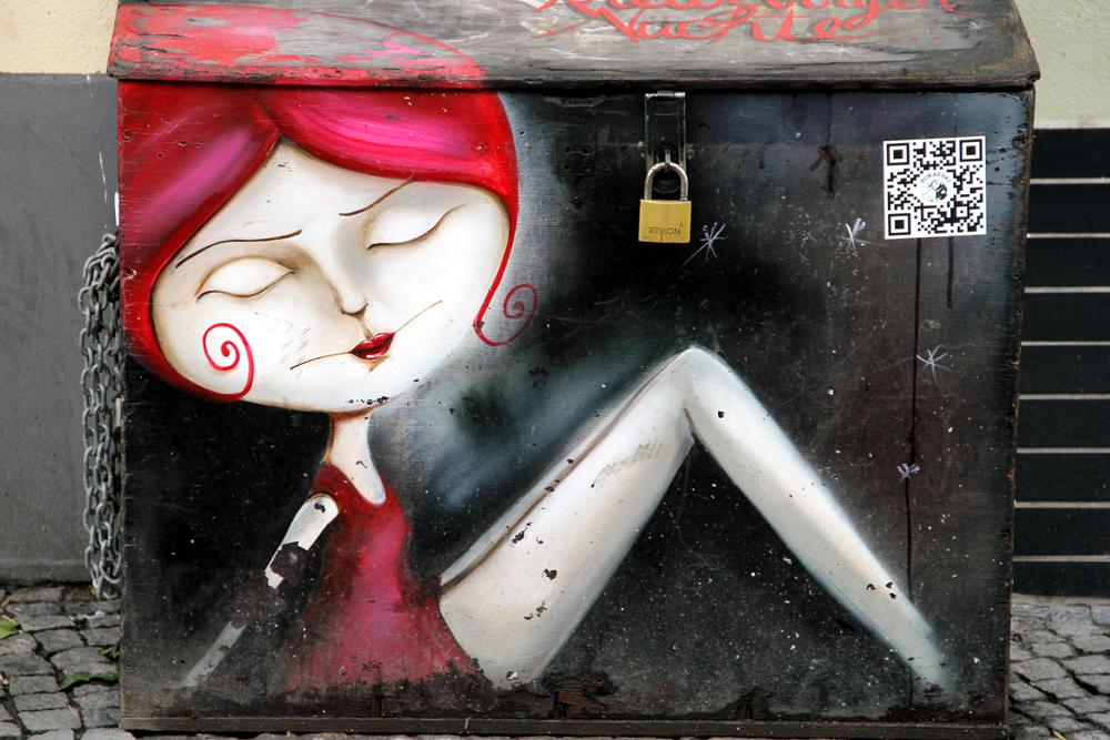 """Caro Pepe Geduldig - """"mit dem geduldigen Blick"""" - Berlin-Kreuzberg"""
