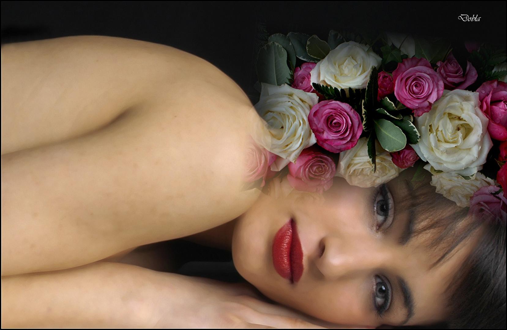 Carol 04 con flores de Rollmopchen