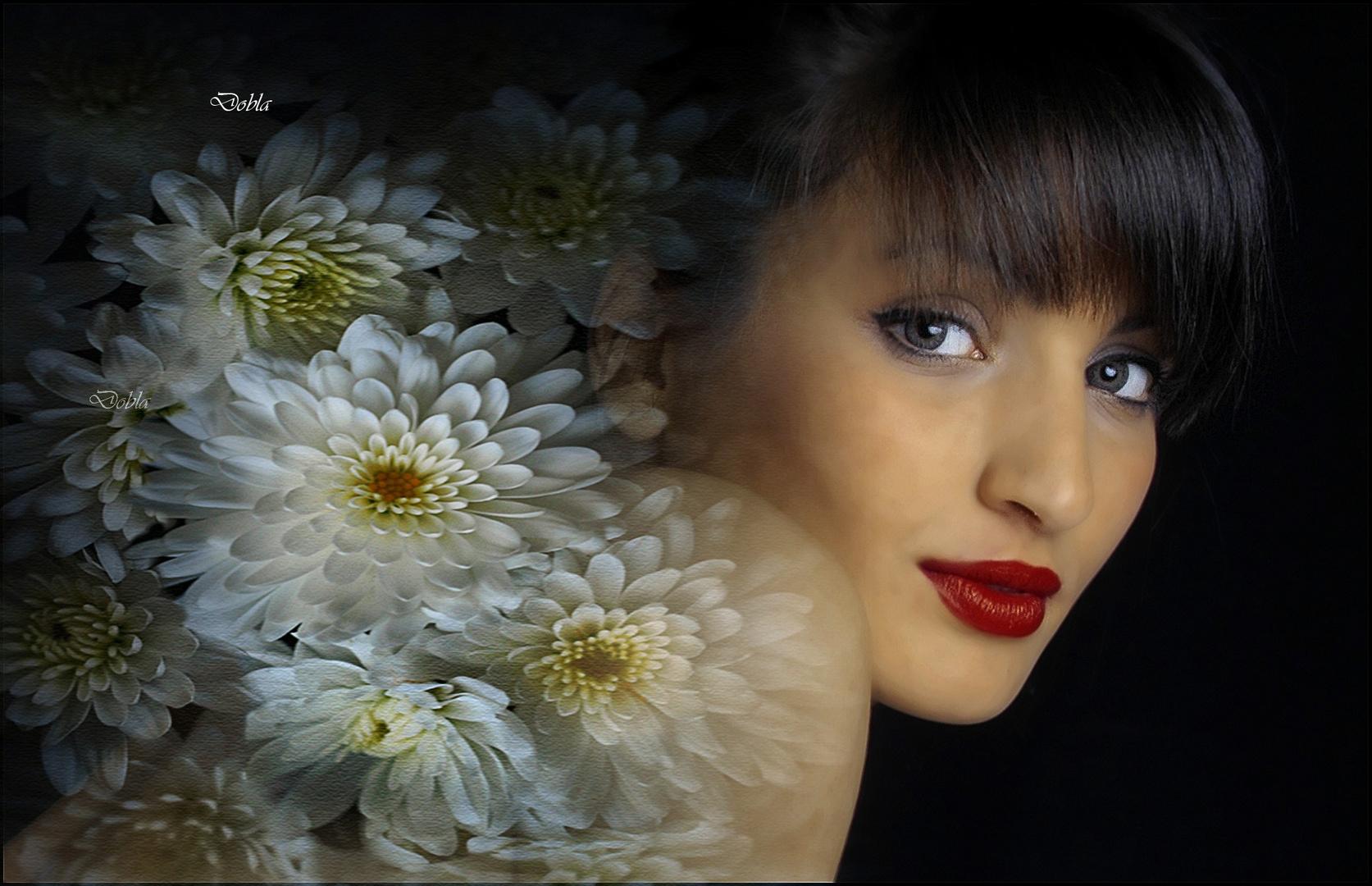 Carol 05 con flores de Canan