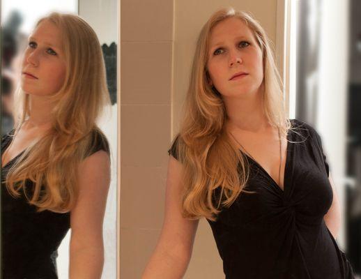 Caroline et le miroir