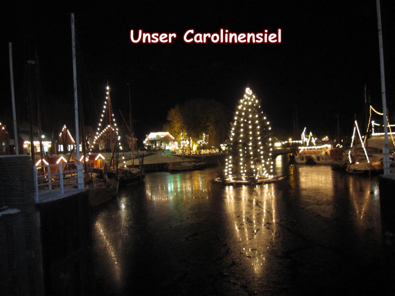 Carolinensiel in der Vorweihnachtszeit
