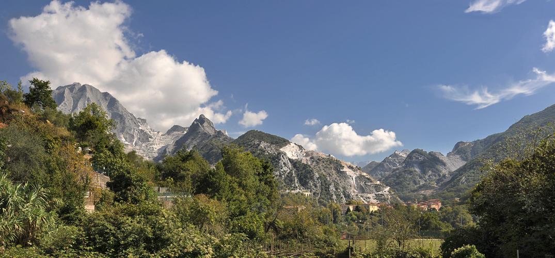Carrara-Marmor Steinbruch I
