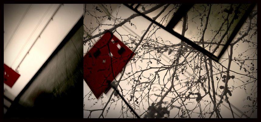 carré rouge..