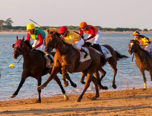carreras de caballos 4 en Sanlúcar de Barrameda