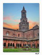 .. Cartolina Abbazia di Chiaravalle...
