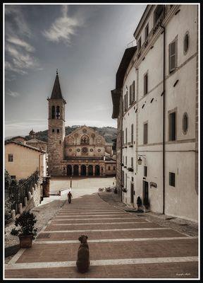 cartolina da Spoleto