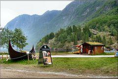 Cartolina della Norvegia