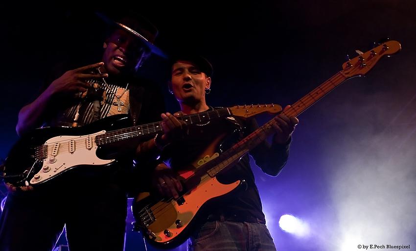 Carvin Jones & Mike Califano