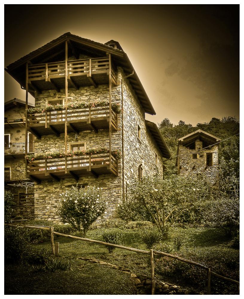 Casa al lago di Como