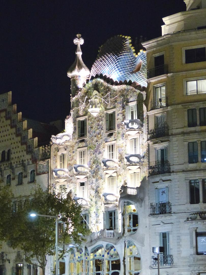 Casa Batlló am Passeig de Gracia