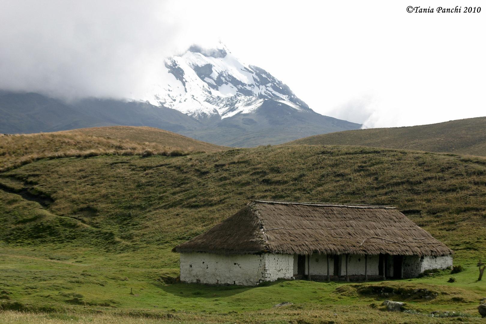 Casa de Humdoldt en la Reserva Ecológica Antisana