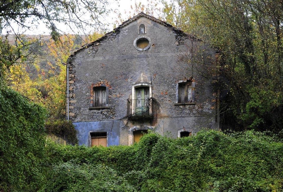 Casa diroccata nel verde foto immagini tracce di mondi for Log planimetrie nuove case