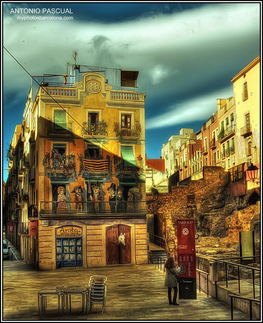 Casa pintada de Tarragona