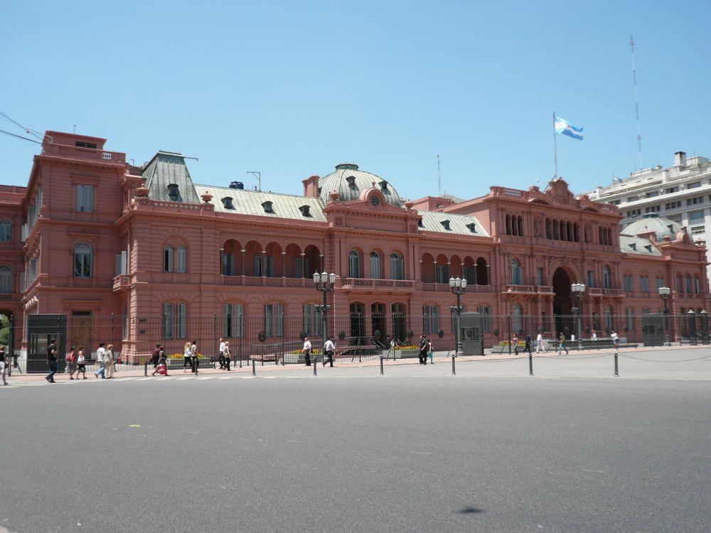 Casa Rosada Buneos Aires