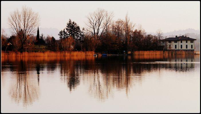 Paesaggi immagini e foto for Disegni casa sul lago