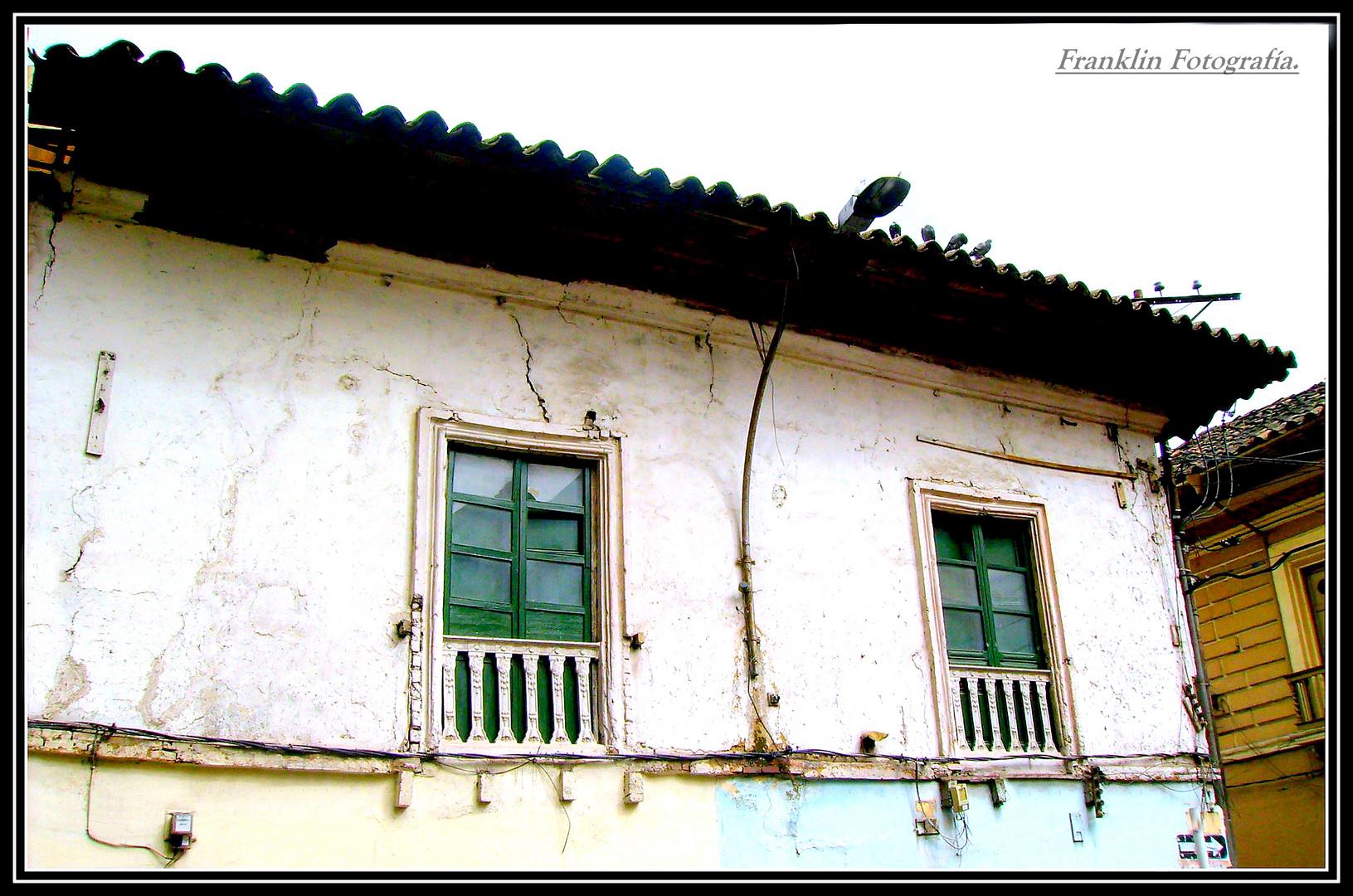 Casa vieja en San Juan de Pasto.