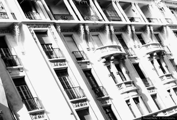 Casablanca's old building