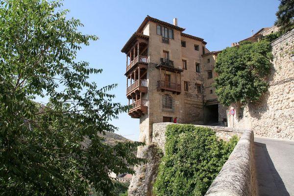 Casas colgadas en Cuenca (Castilla-La Mancha).