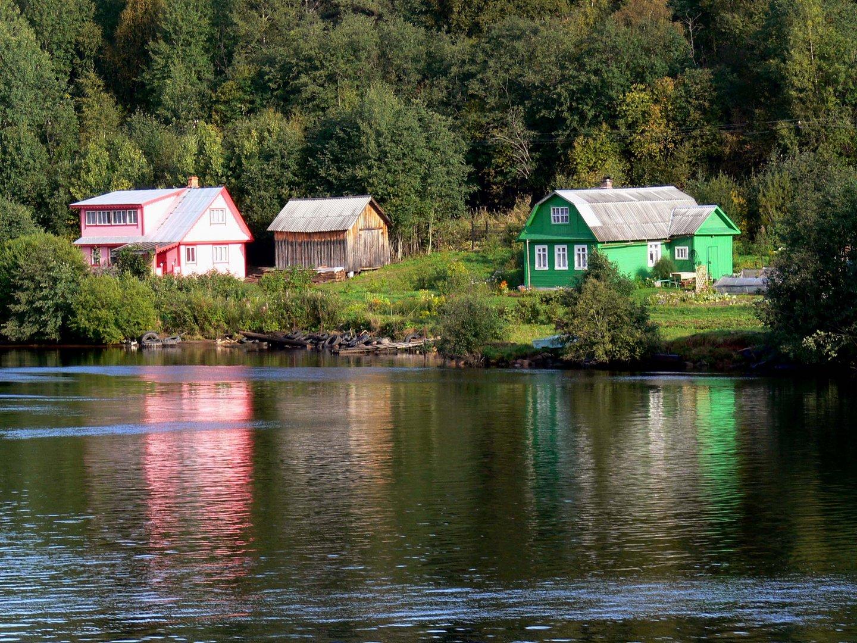 Casas típicas rusas