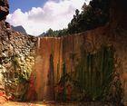 Cascada del colores