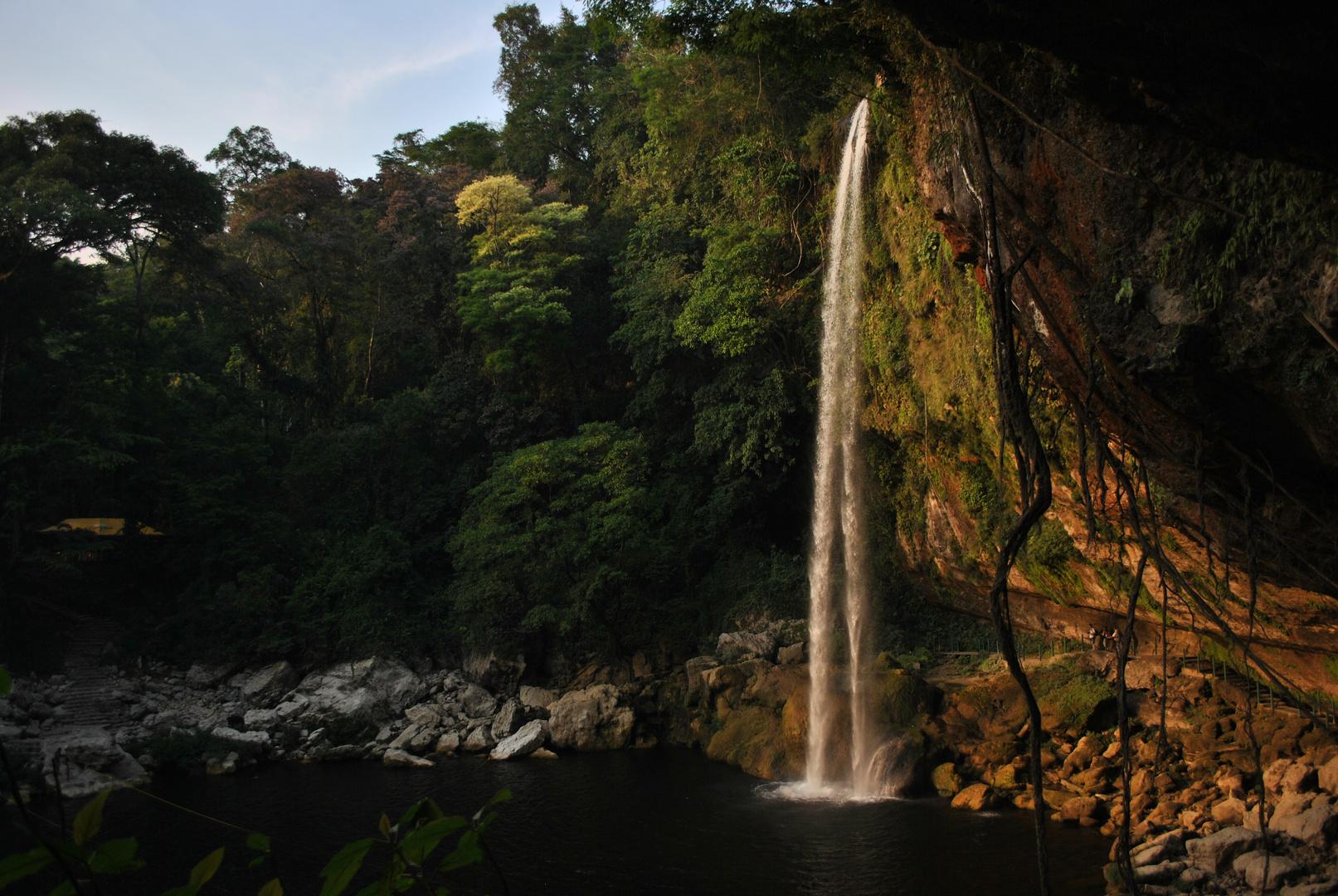 Cascada Misol Ha , Chiapas