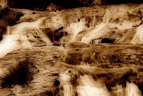 Cascadas del rio Barosa
