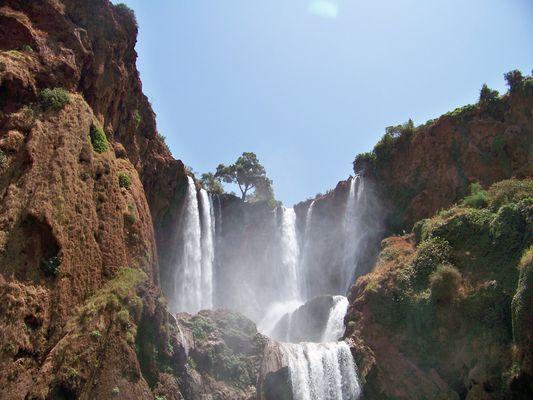 Cascade d' ouzoud, Maroc
