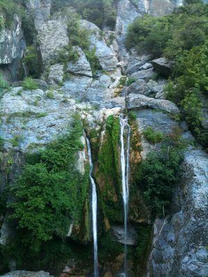 Cascade de l'Ucellunine _ Casta Verde