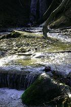 Cascade de Vallin en automne