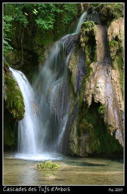 Cascade des Tufs d'ARBOIS