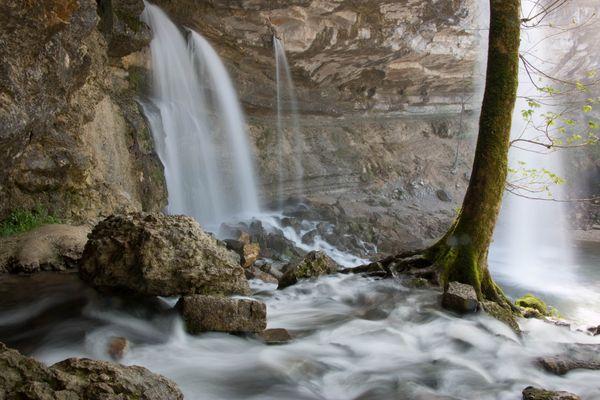 Cascade du Herisson (Doubs)