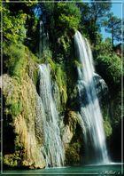 cascade du sud de la France, à coté de villecroze