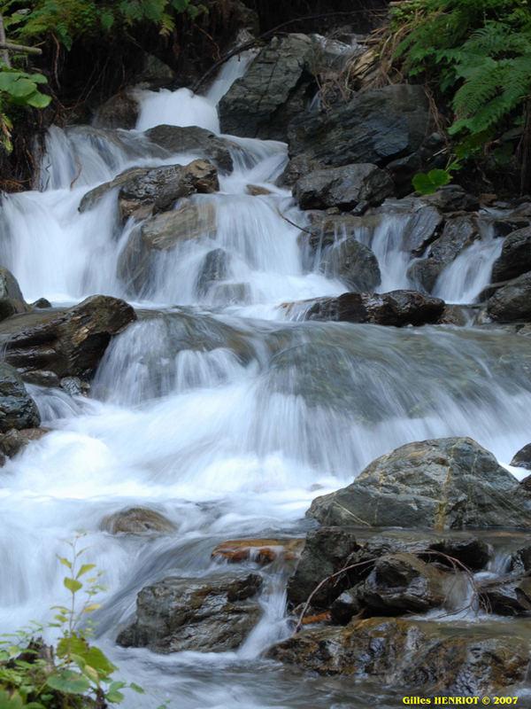 cascade en Isère