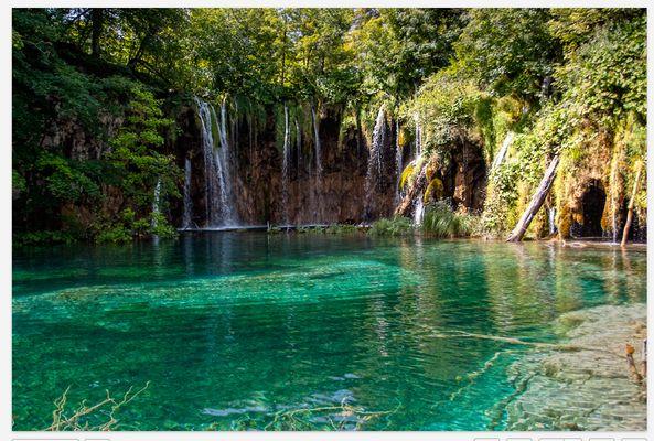 Cascades de Croatie