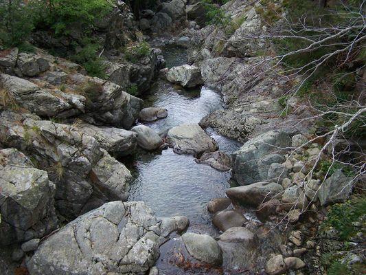 Cascades des Anglais (Corse)