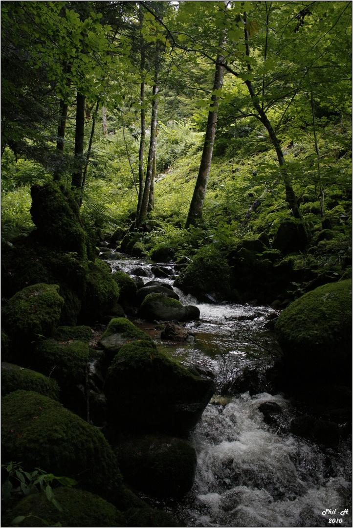 cascades Saint Nicolas (France) 2