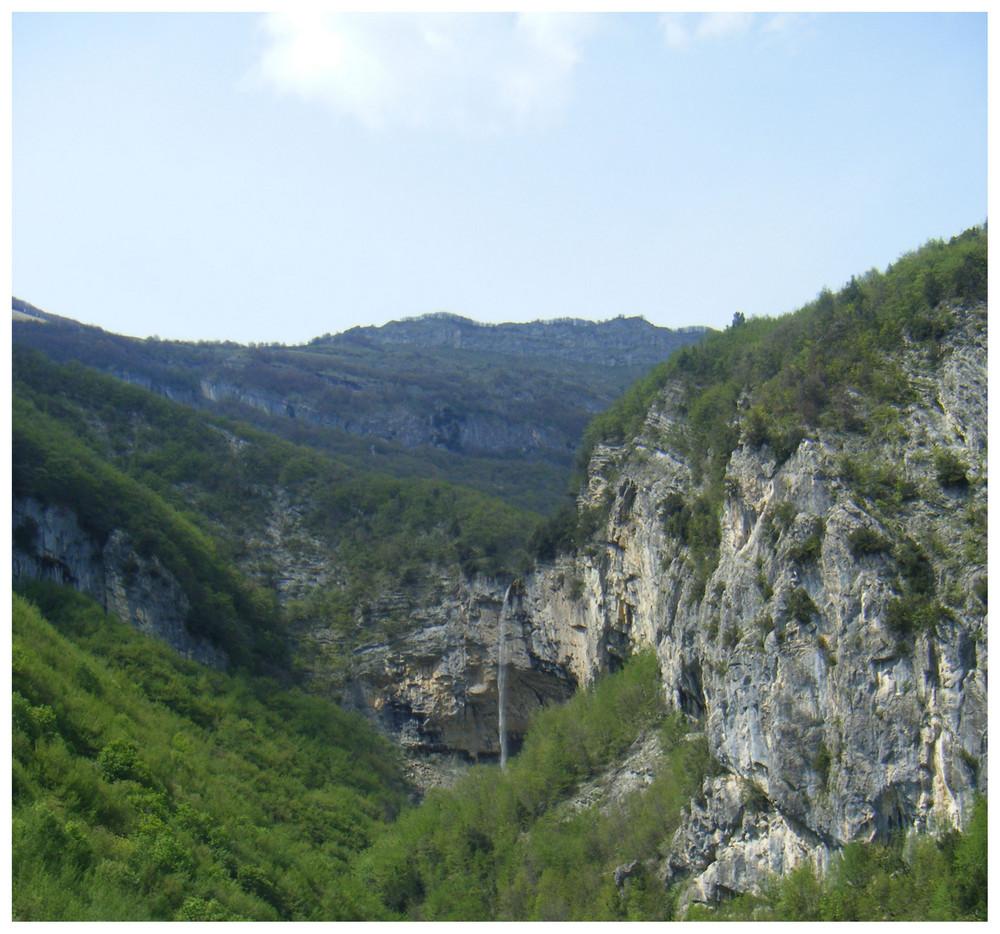Cascata del PIsciarellone