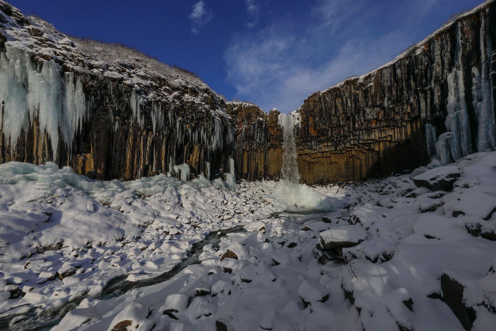 cascate di basalto